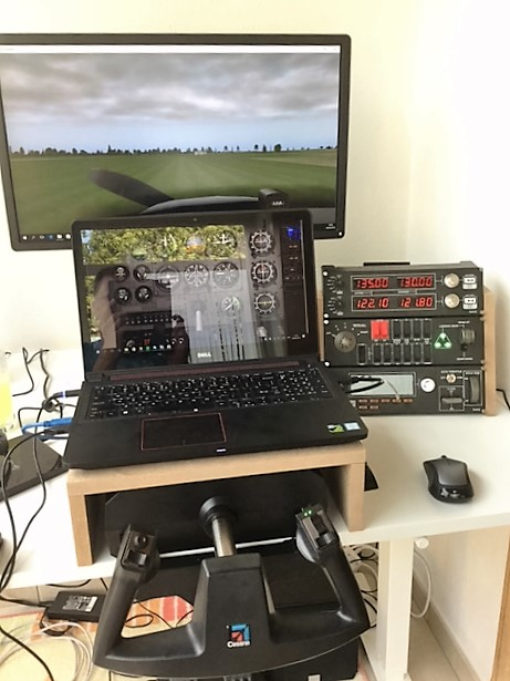 How to setup Laptop & Beamer for FSX - X-Plane Q&A